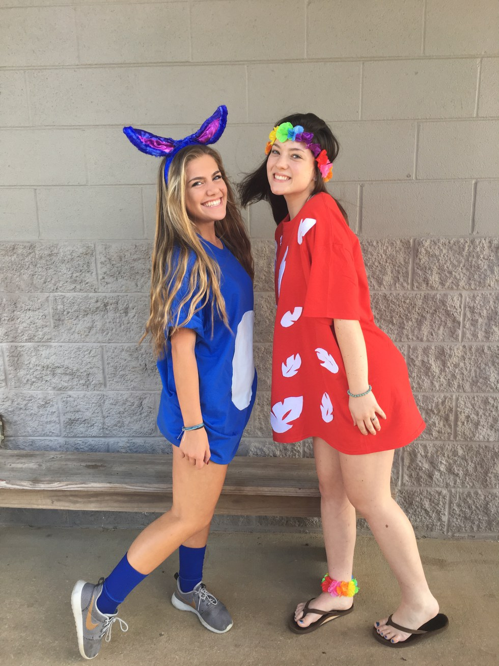 A perfect  BFF  or even couple costume!  sc 1 st  Odyssey & 16 DIY Disney-Inspired Halloween Costumes