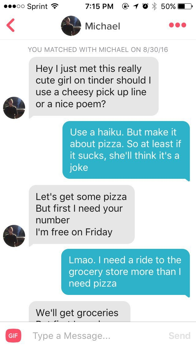 really good pick up lines to use on guys