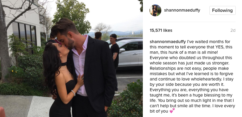 are shannon and michael dating