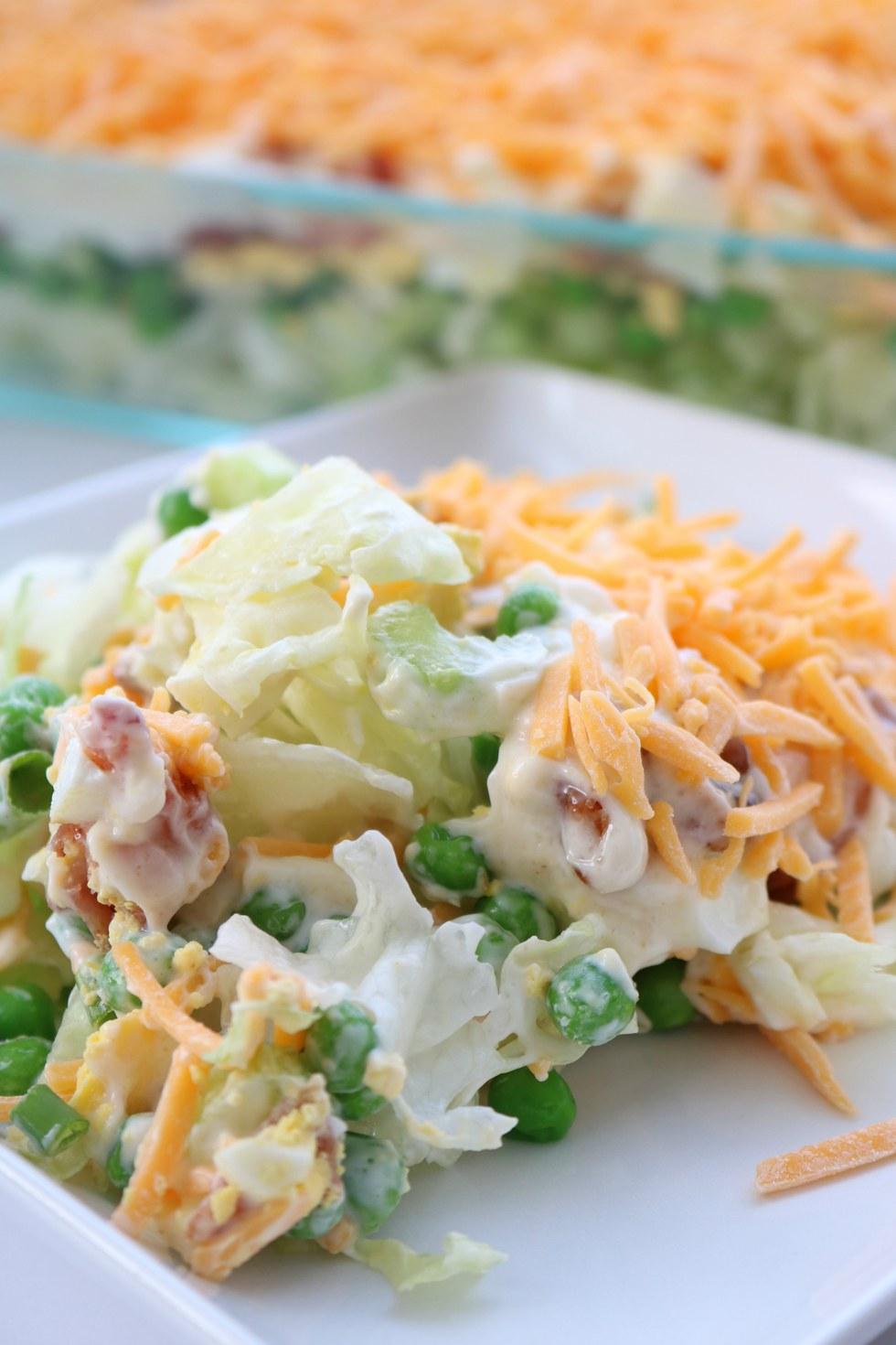 delicious 7 layer salad my recipe magic