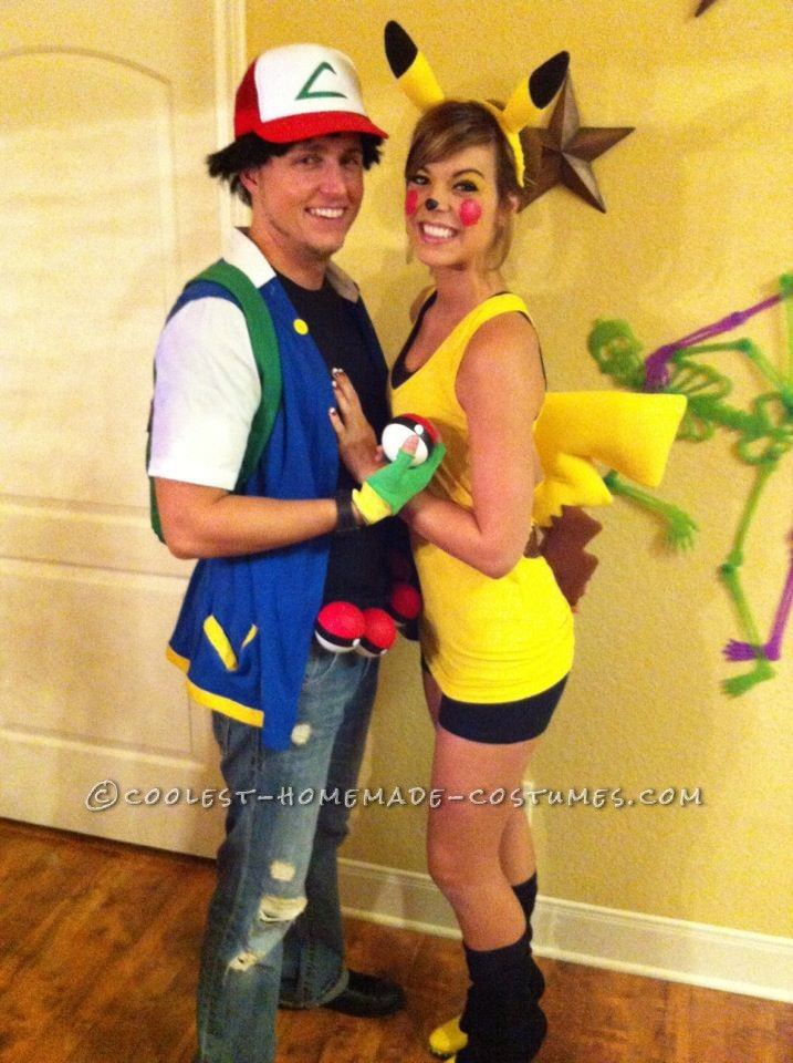56. Ash and Pikachu  sc 1 st  Odyssey & 75 Last-Minute College Halloween Costume Ideas