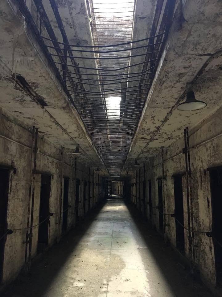 Hallway in Eastern State Penitentiary