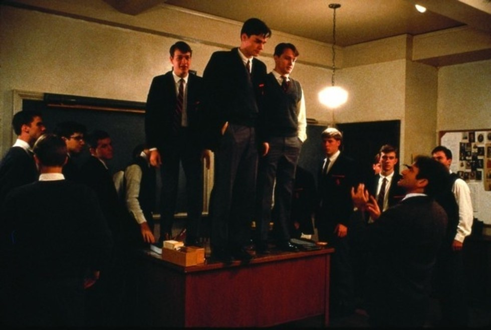 the theme of self esteem in the movie dead poets society For this leadership report, we have chosen the movie « dead poets society » this movie was awarded for the best scenario in 1989 and was.