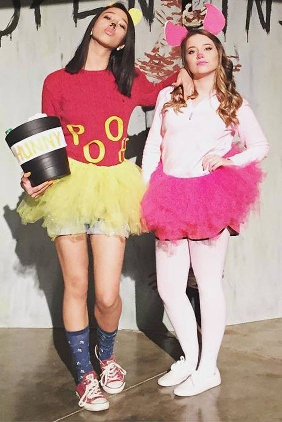 grab your best bud and throw together this simple costume for your halloween party better yet if you have more friends who want to join in
