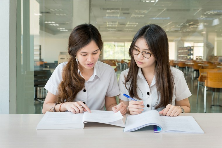 Image result for studying with a friend