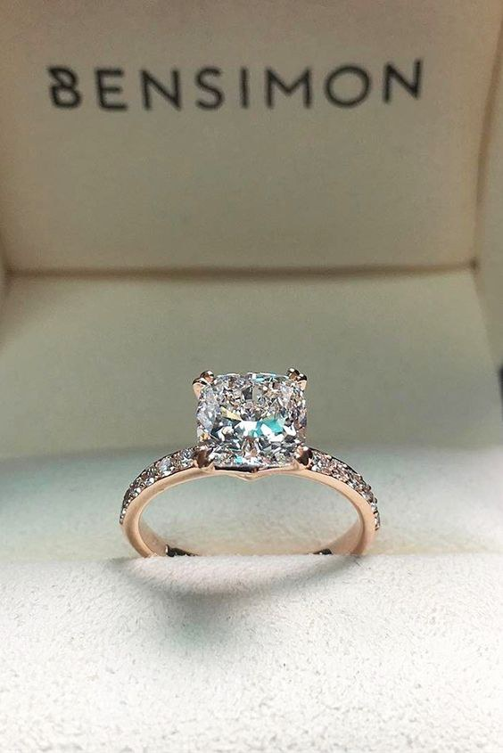 ring rings engagement pin jaw carat dropper select diamond bling