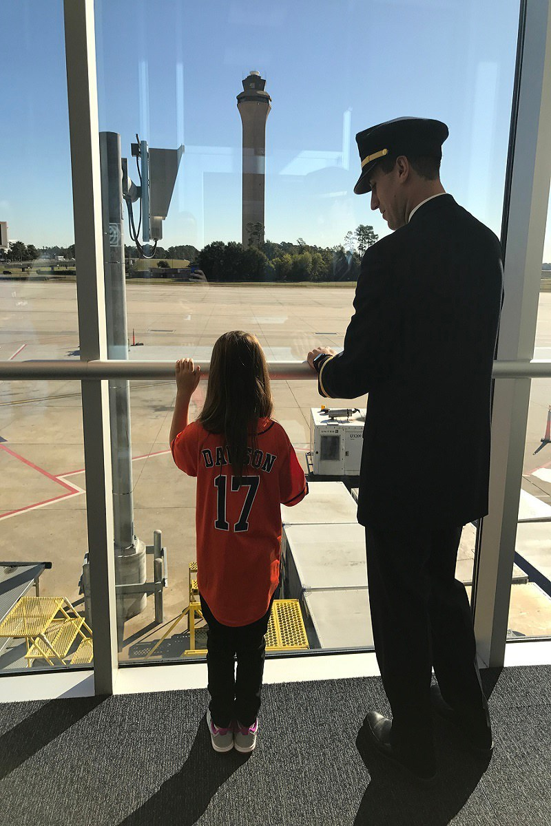 First Officer Eric and Hailey Dawson in Houston