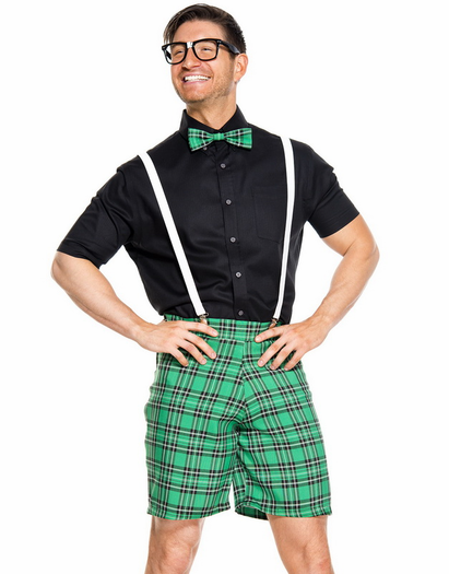 What You Need A button down shirt suspenders bow-tie and a pair of wide-rim glasses!  sc 1 st  Odyssey : junk mail costume  - Germanpascual.Com