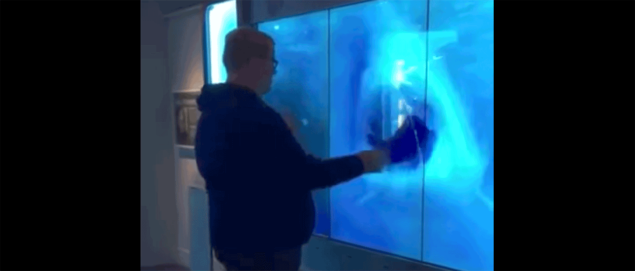 WATCH: An Imaginary Shark Scares This Dude Sh*tless
