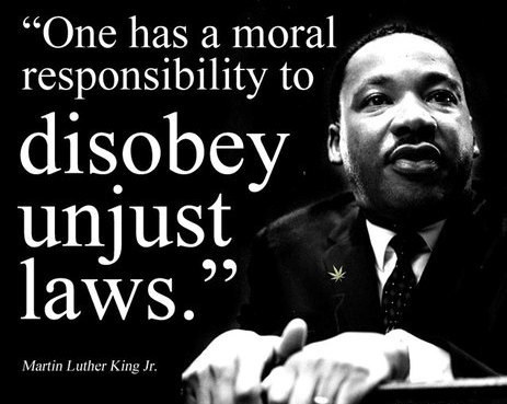Thoughts On Civil Disobedience
