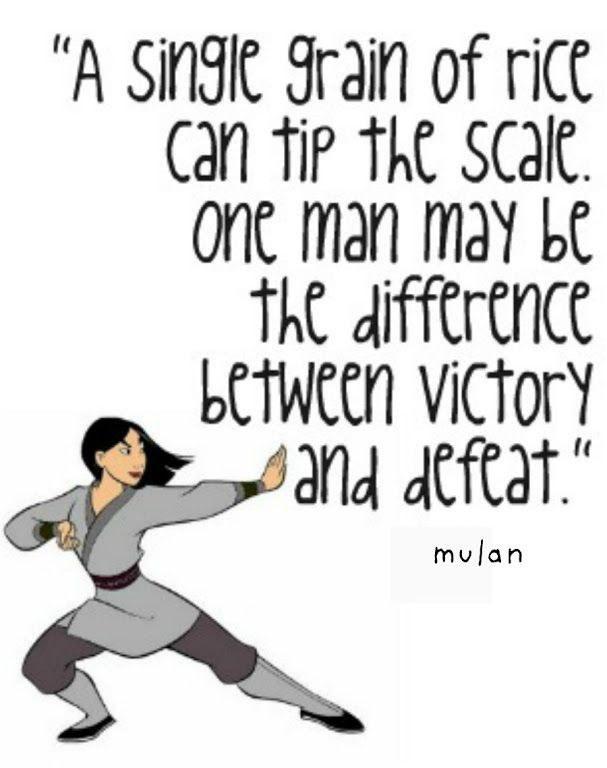 Mulan Quotes | Inspirational Mulan Quotes To Get You To Spring Break