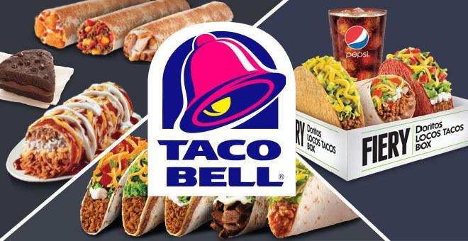 Funny Doodle Style Symbols For Fast Food Restaurants