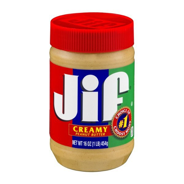 the positioning of jif peanut butter