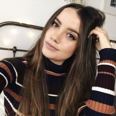 Tess Christine, 25 years old, beauty and fashion guru who started her YouTube channel in April of 2011.
