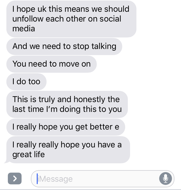 Reddit girl im dating said she is talking to her ex