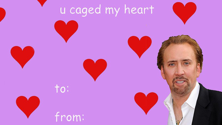 2. To Make You Like Nicholas Cage A Little More