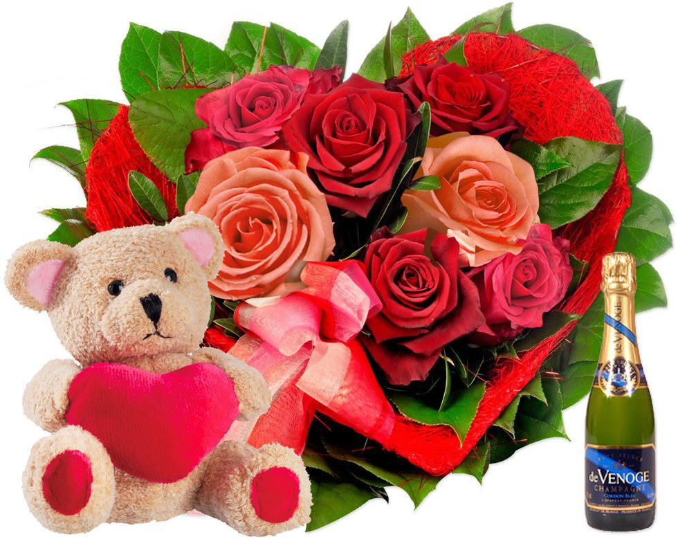 another common but romantic gift for your girlfriend get creative with it throw rose pedals all over the bed or hand her a giant bouquet all at once