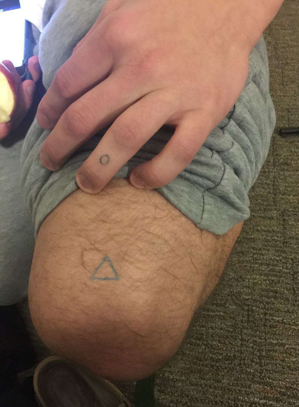 My Friend Got A Stick And Poke Tattoo And This Is What Happened