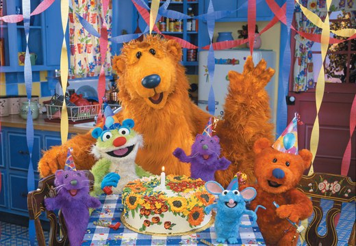 2 bear in the big blue house