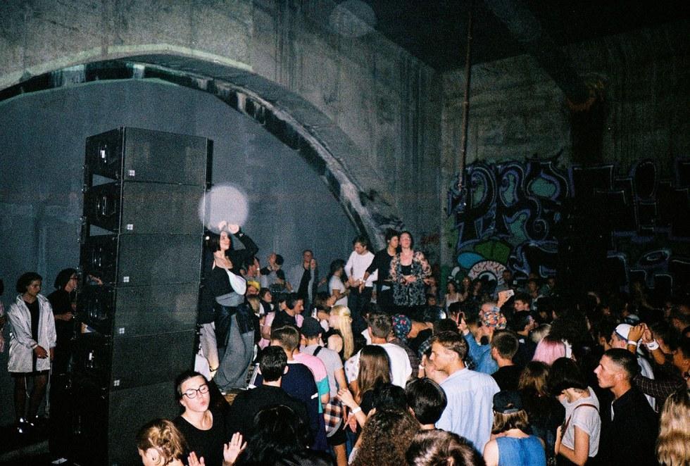 the underground scene of american culture