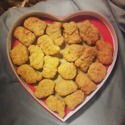 V-Day Gift Ideas For The Person Who Loves Chicken Nuggets
