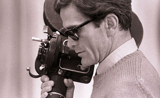 Weapons of Poetry and Images: On the Works of Pier Paolo Pasolini