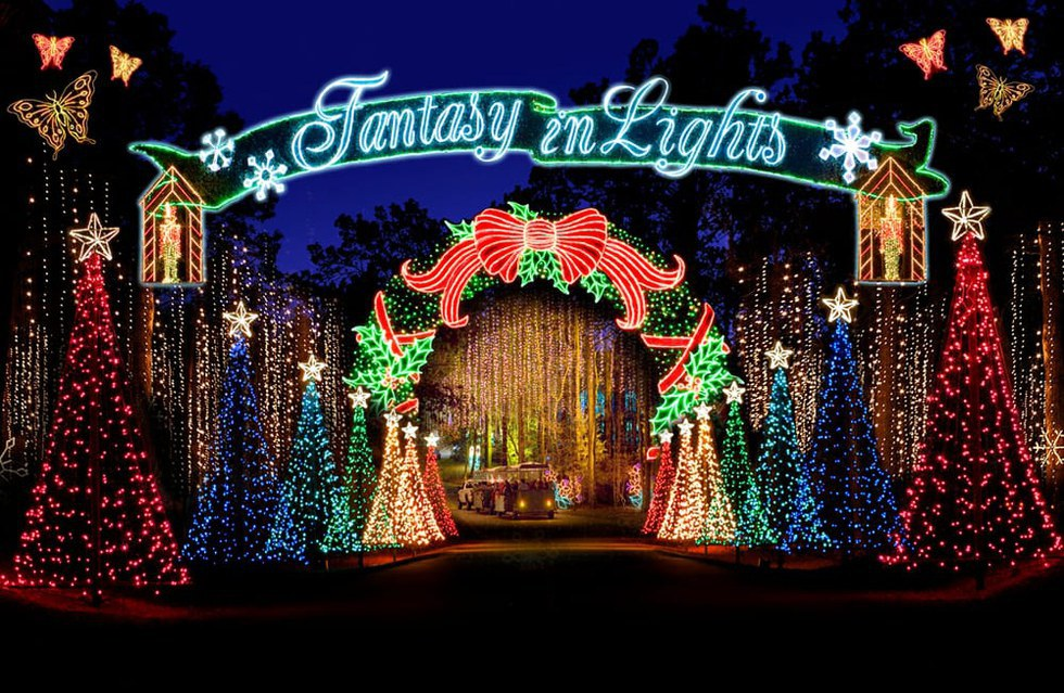 6 Must See Christmas Light Shows in Georgia