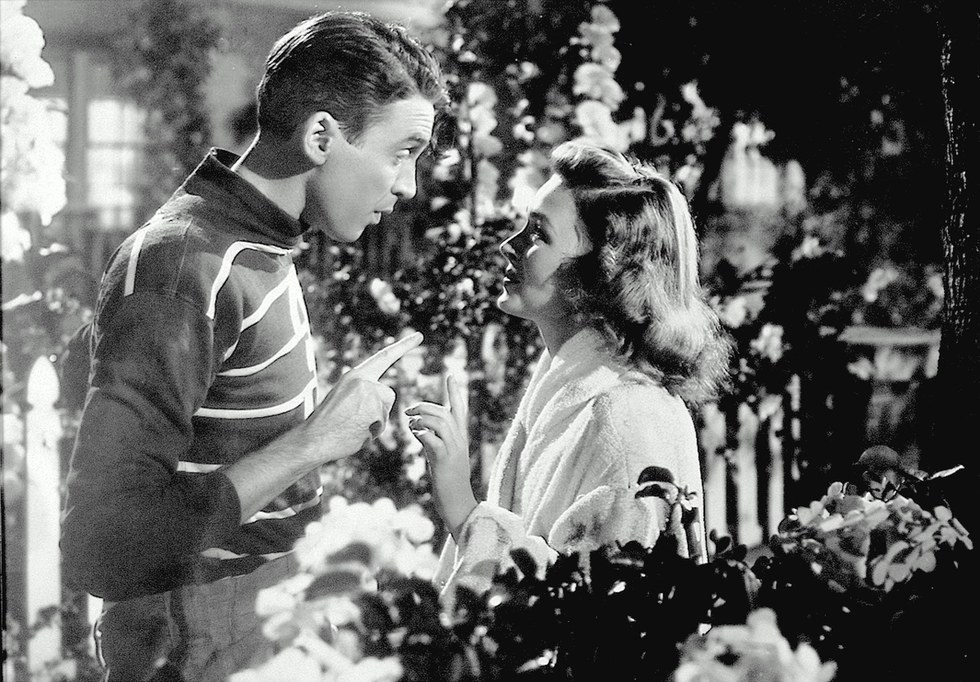 it comes on tv every christmas eve and never gets oldeven though its probably the most famous old christmas movie of all - Black And White Christmas Movies