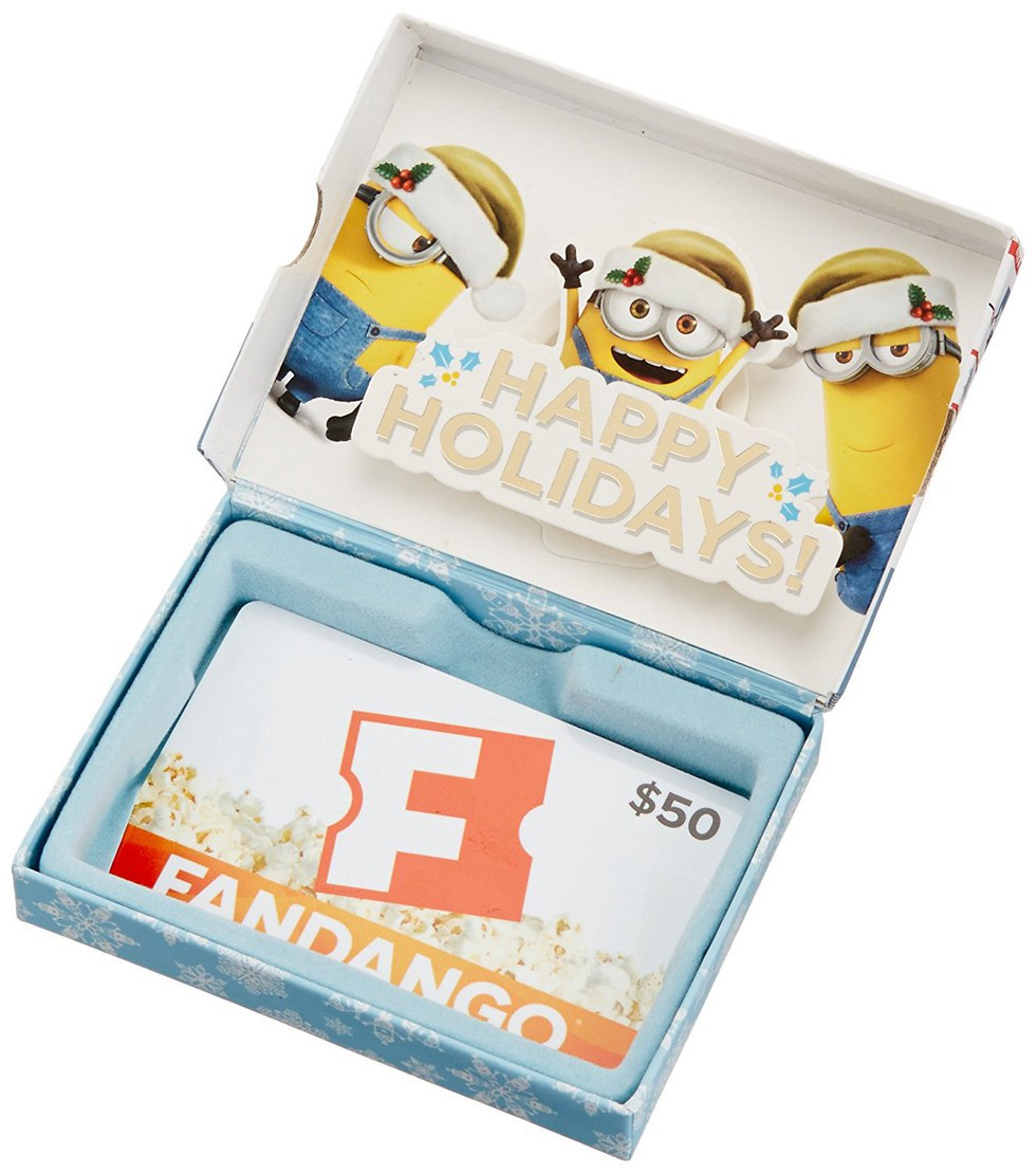 where can you use fandango gift card the 5 gift cards people actually want for christmas 503
