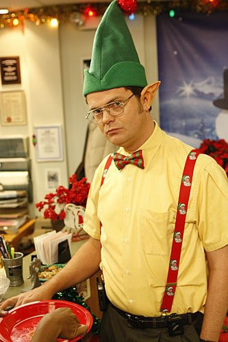 10 times the office perfectly described christmas