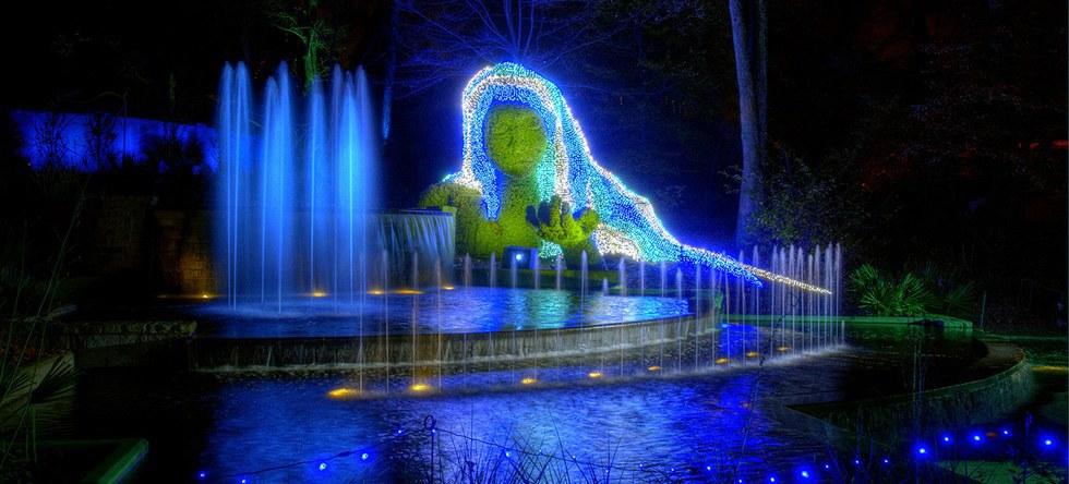 Top 10 Christmas Attractions In Atlanta