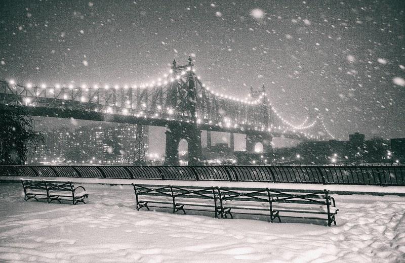 New York City Christmas Snow
