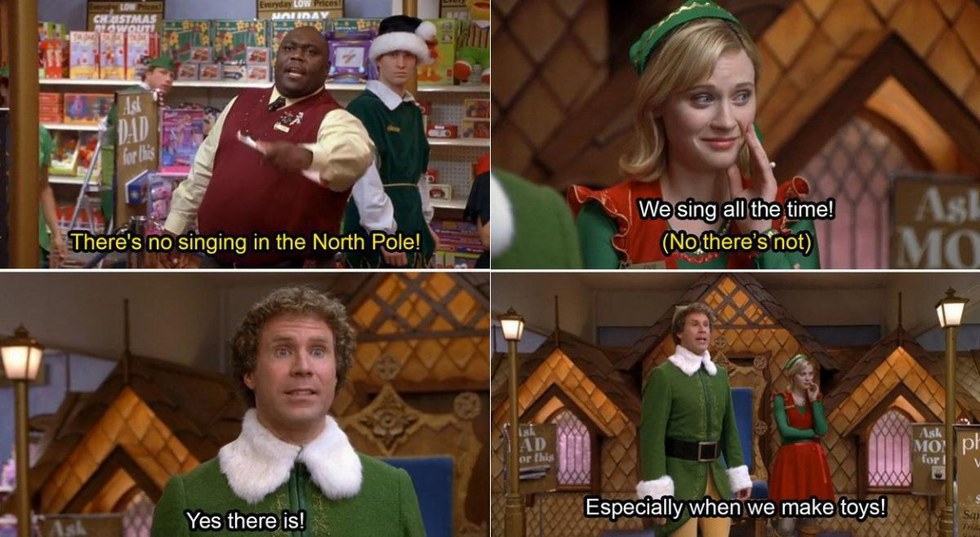 13 Things Buddy The Elf Does That We Wish Could Get Away With