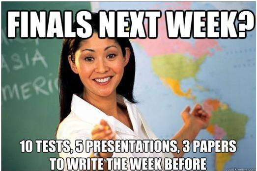 Finals Week Meme Matrix 12 Relatable Fi...
