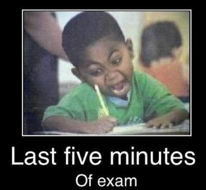 Final Exam Week: Meme Style