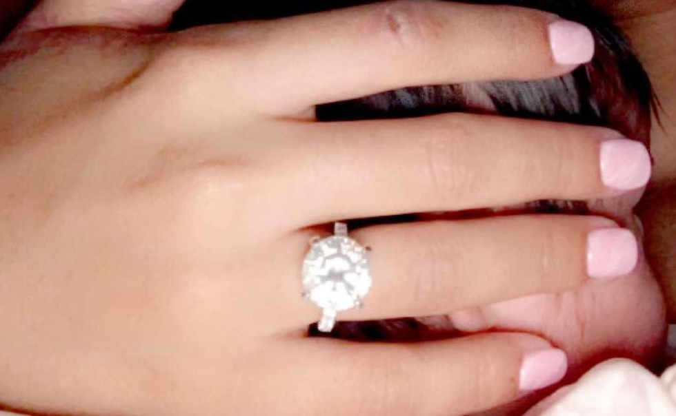 blac chyna - Giuliana Rancic Wedding Ring
