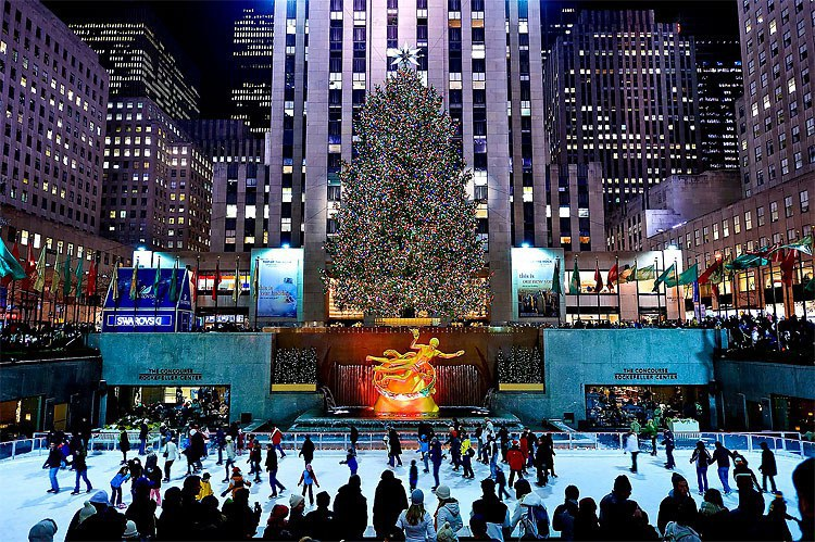1 rockefeller tree - Things To Do In Nyc During Christmas