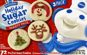 Holiday Sugar Cookies Pillsbury House Cookies
