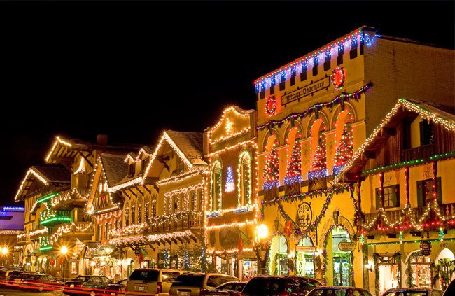 Best Christmas Towns.Christmas Lights Washington State Best Of Ideas Christmas