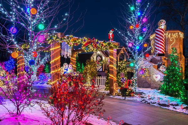 The Christmas Ranch – Morrow - Must See Christmas Light Attractions In Ohio