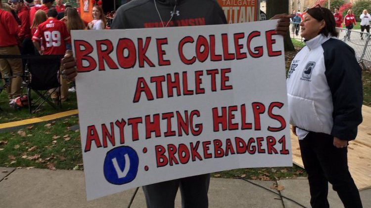 why shouldn t college athletes get paid