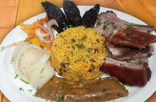 the food - Puerto Rican Christmas Food