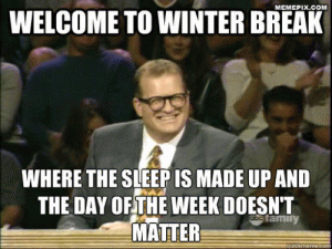 12 Funny Memes To Get You To Winter Break