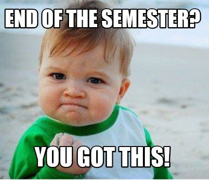 Image result for end of the semester