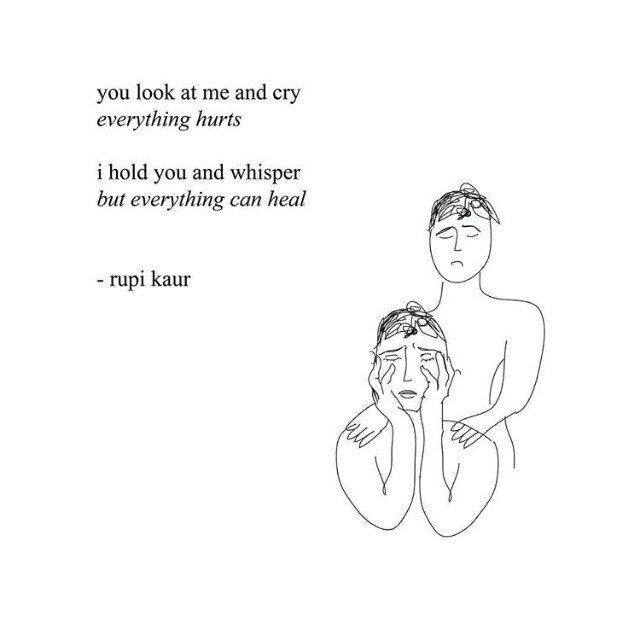 10 Rupi Kaur Poems For A Broken Heart