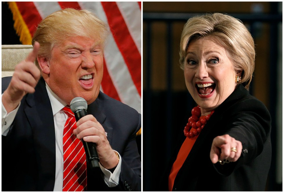 3. Trump or Clinton  sc 1 st  Odyssey & Funniest Halloween Costumes