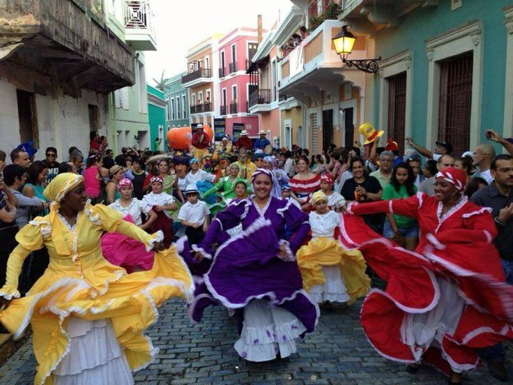 When I Traveled To PR For The First Time Was Baffled By How Culturally Diverse San Juan Streets Were Crowded With So Many Different People From