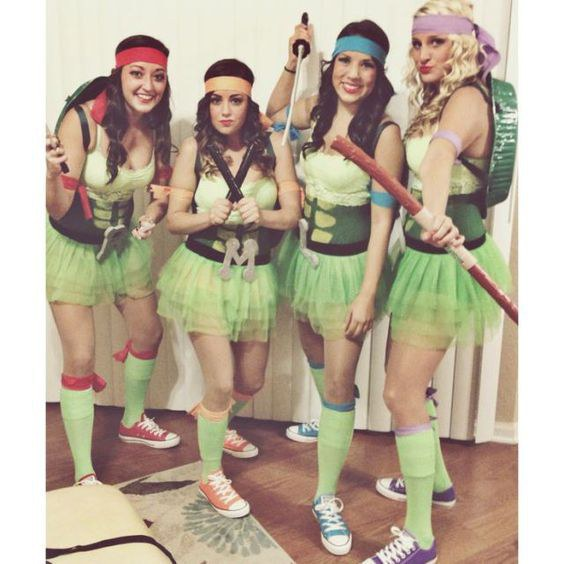 Teenage Mutant Ninja Turtles. This squad costume is very easy to put together and it is fairly easy to find the people to do it with.  sc 1 st  Odyssey & 5 Halloween Costumes For Your Squad
