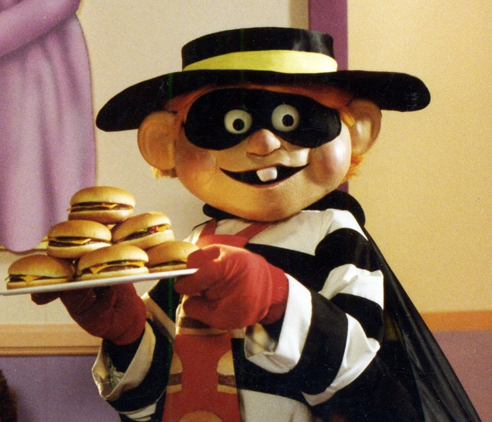 maybe the sexiest halloween costume of all the hamburglar all you need is to walk around wearing a mask and holding a hamburger it doesnt have