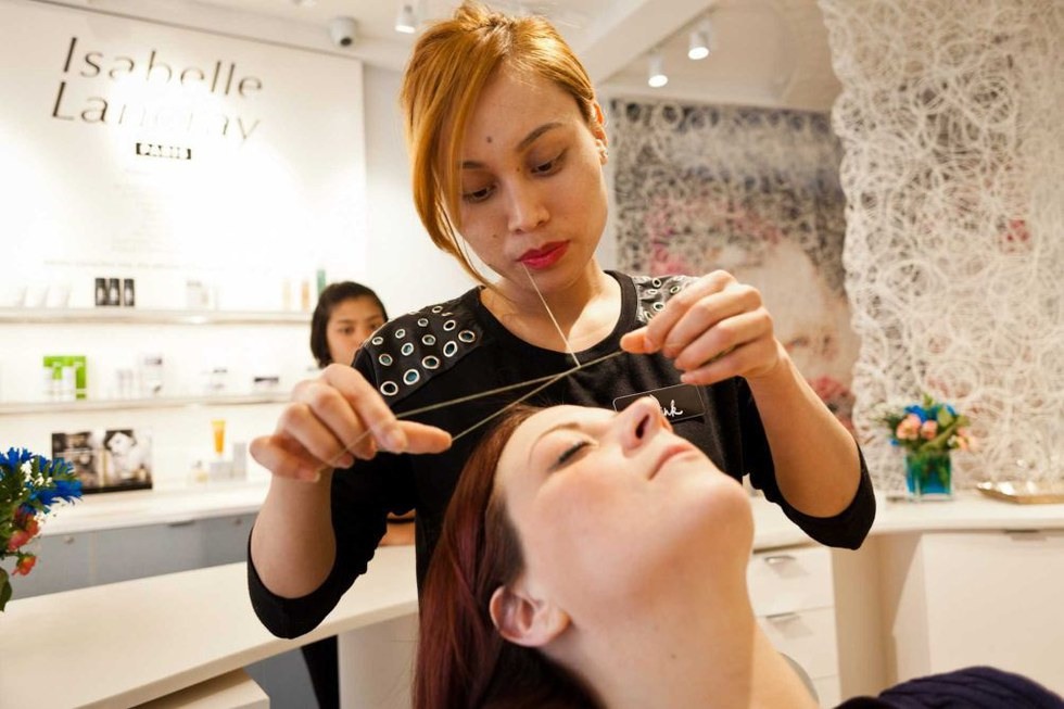 The Best Nyc Eyebrow Threading Spas And Salons
